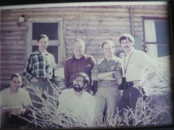 NREL Staff circa 1975, about the time when Dr. Cole began collaborating with them. Left to Right top row: Norm French, Jim Gibson, George Van Dyne, Melvin Dyer Front Row: Freeman Smith, George Innis accessed at http://en.wikipedia.org/wiki/File:NREL_Staff_circa_1975.JPG
