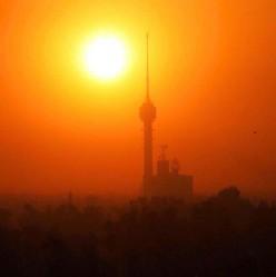Sunset it Baghdad